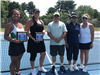 2018 Womens Doubles - Finalists Botum Bennett and Emily Manion  -  Director Paul Perry  -  Champions
