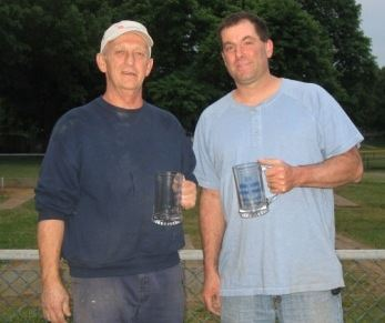 2009 Singles Champion Steve Stack and 2009 Runner-up Steve Towner