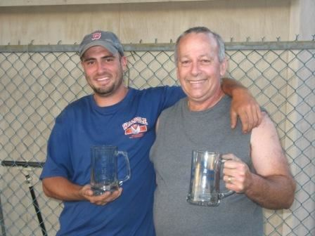 2008 Singles Champion Bob Blais and 2008 Runner-up Wayne Vaslet