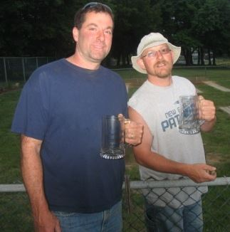 2010 Singles Champion Steve Towner and 2010 Runner-up Drew Briggs