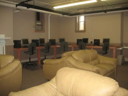 Computer lab and homework room