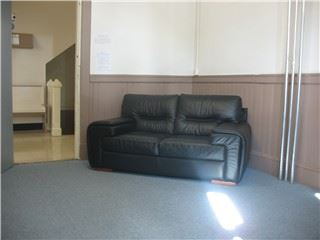 Couch in the Lounge area