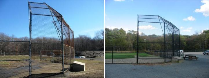 An updated baseball fence